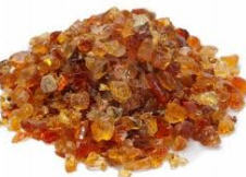 Edible gum arabic